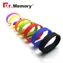 USB 2 0 pendrive silcon bracelet band USB flash drive 32G U disco 16G Flash memory