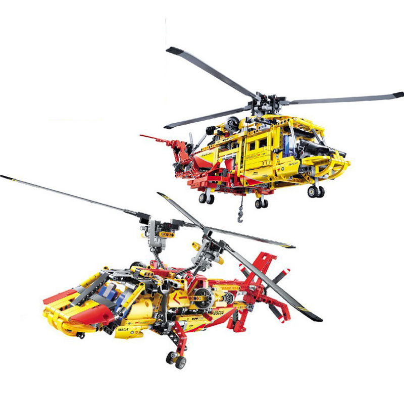 Decool 3357 Helicopter building bricks blocks Toys for children Game Car Formula 1 Compatible with Lepin Bela 9396 lepin 02012 city deepwater exploration vessel 60095 building blocks policeman toys children compatible with lego gift kid sets