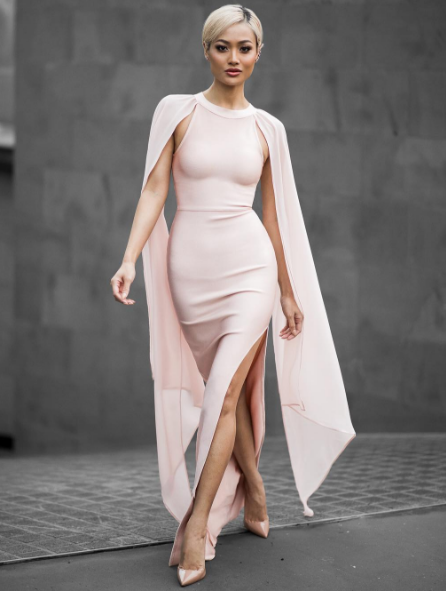 New Arrival 2016 Womens Fashion Clothing Sexy Black Vestidos Long Bandage Dress