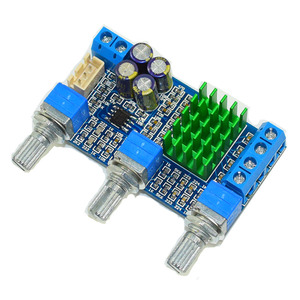 Image 2 - Kaolanhon 50W+50W Home audio dual channel high power digital amplifier board TPA3116 with tone amplifier board