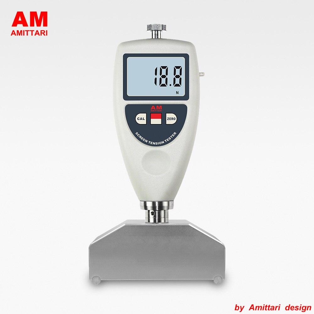 Véritable marque AMITTARI testeur de Tension d'écran numérique pour treillis métallique général maille d'acier impression écran pochoir USB BLUETOOTH