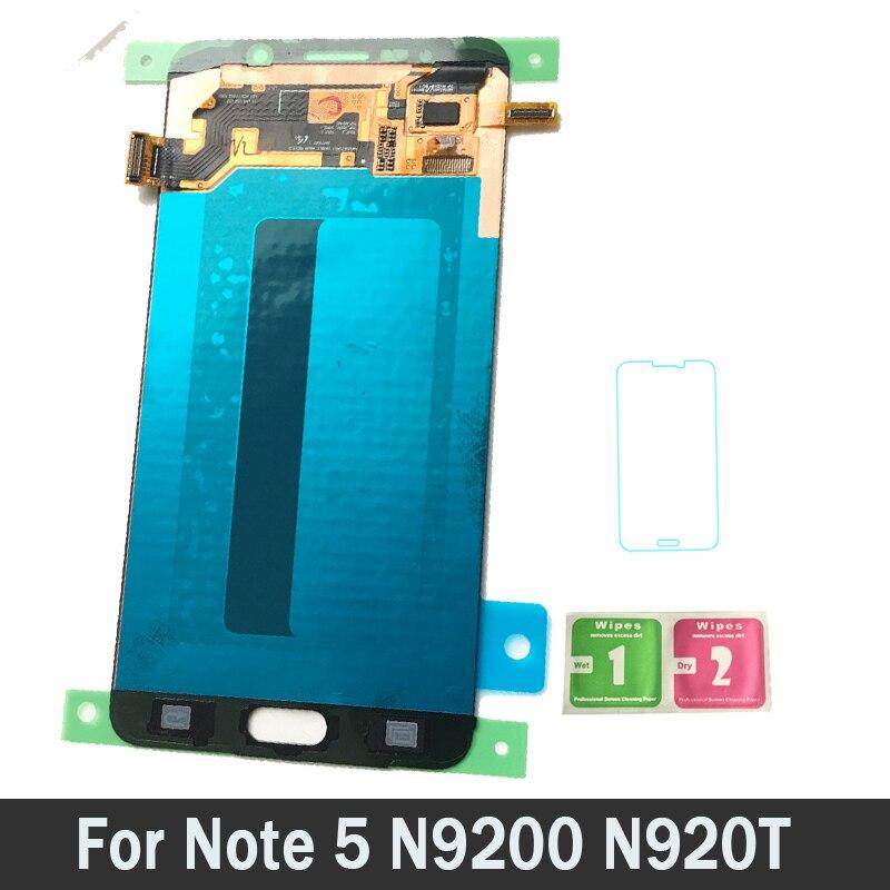 AMOLED LCD pour Samsung Galaxy Note5 N920T N920A N920I N920G Note 5 LCD écran tactile numériseur assemblée nouveau