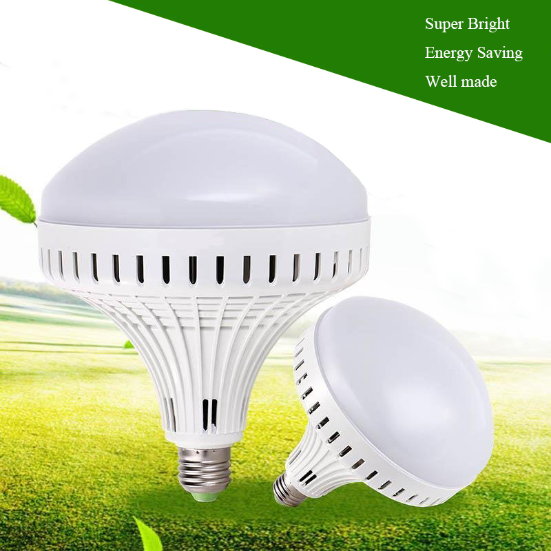New Super Bright LED Bulb E27 12W 16W 30W 50W 220V Cold White/Warm White Round LED Light Lamp 5730 Chip for House Home Office 5pcs e27 led bulb 2w 4w 6w vintage cold white warm white edison lamp g45 led filament decorative bulb ac 220v 240v