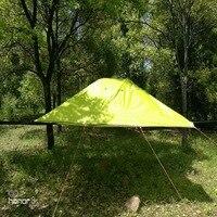 Большой открытый 3 4 человек палатка, Кемпинг гамак, комаров сетчатый гамак, приостановлено палатка, дерево висит Кемпинг шатра дерева