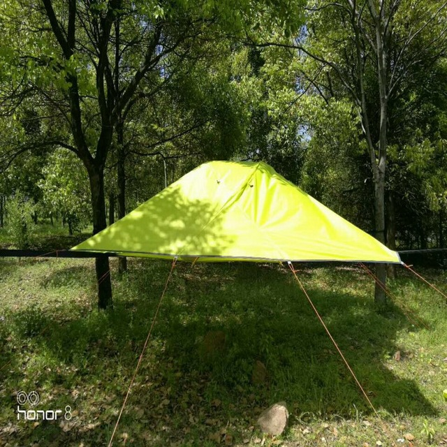 Large Outdoor 3 4 People Tent Camping Hammock Mosquito Net Suspended Hanging Tree