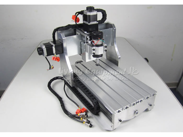 CNC router 3020 T-D300 cnc milling machine cnc engraving machine for wood PCB plastic carving and drilling, no tax to russia! cnc router engraving machine diy 2520 4axis engraving drilling and milling machine with rotary axis no tax to ru