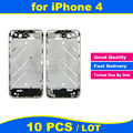 10pcs/lot High Quality Chassis for iPhone 4 4G Middle Frame Bezel Midframe Housing Replacement Parts