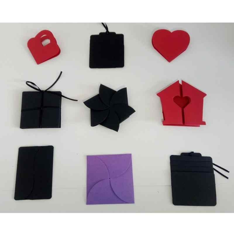 DIY Surprise Love Explosion Box Gift For Anniversary Scrapbook Photo Album Birthday
