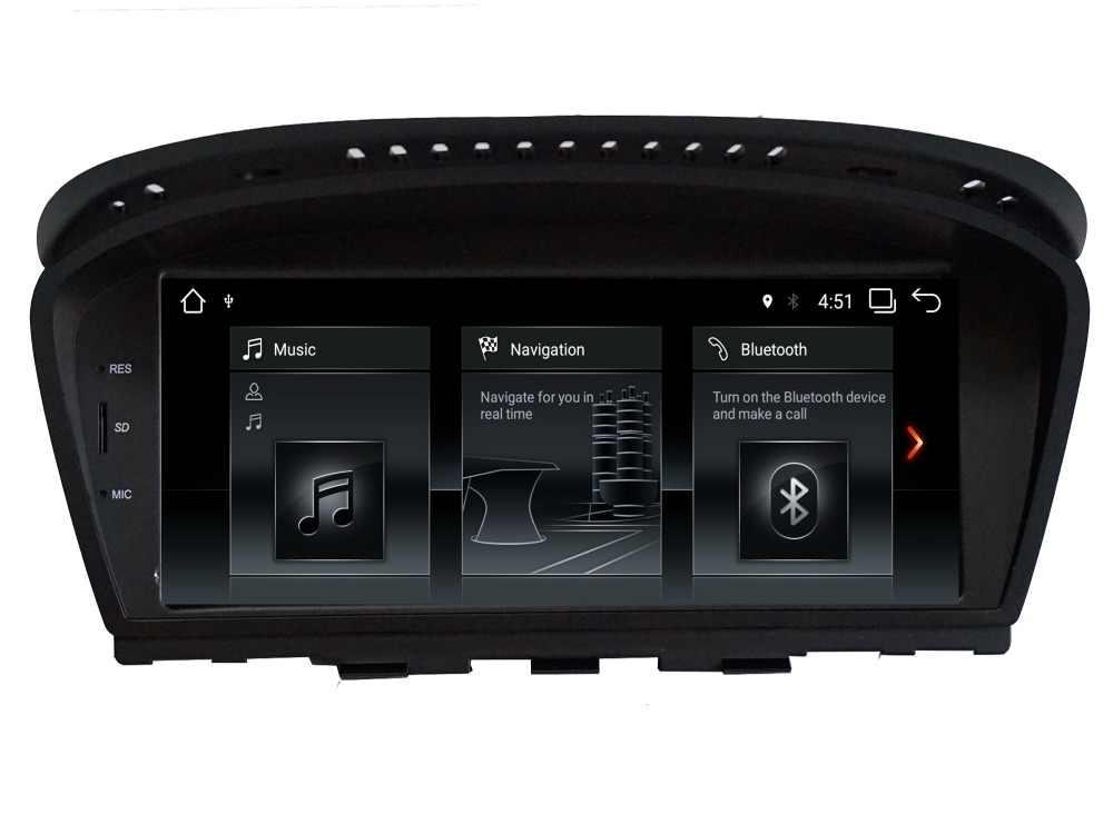 Android 7,1 автомобиль DVD навигатор плеер для BMW 3 серии BMW 5 серии E60 E61 E63 E64 E90 E91 E92 обоих концах для подключения внешних устройств к автомобильной монитор все в одном