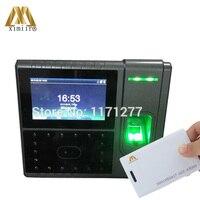 RS232 и 485 Смарт Посещаемость Часы Iface502 распознавания лица отпечатков пальцев управление доступом RFID карты электронное оборудование для офис