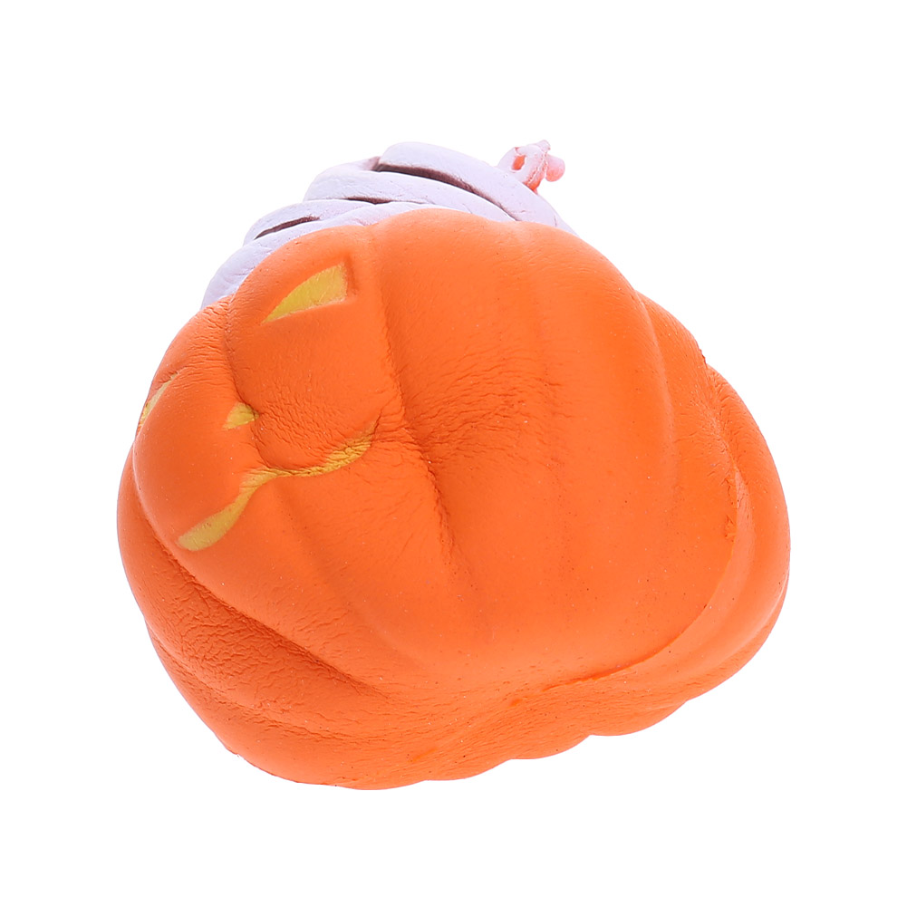 New Kawaii Pumpkin Ice Cream Bread Cake Jumbo Stress Stretch Scented Squeeze Soft Slow Rising Kid Fun Toy