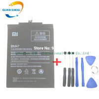 100 New Battery BM47 High Quality 4000mAh Replacement Backup Battery For Xiaomi 5 0inch Redmi 3