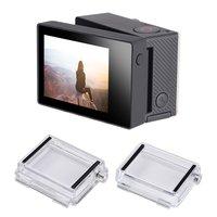 SCHIETEN Display met Backdoor Achterkant Lcd-scherm Voor Gopro Hero 4 3 + Zwart Camera Voor GoPro Hero 4 accessoires