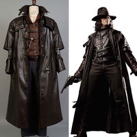 Van Helsing Hunter of Monsters Van Helsing Cosplay Costume for Adult Halloween Costume Men Uniform Full Set