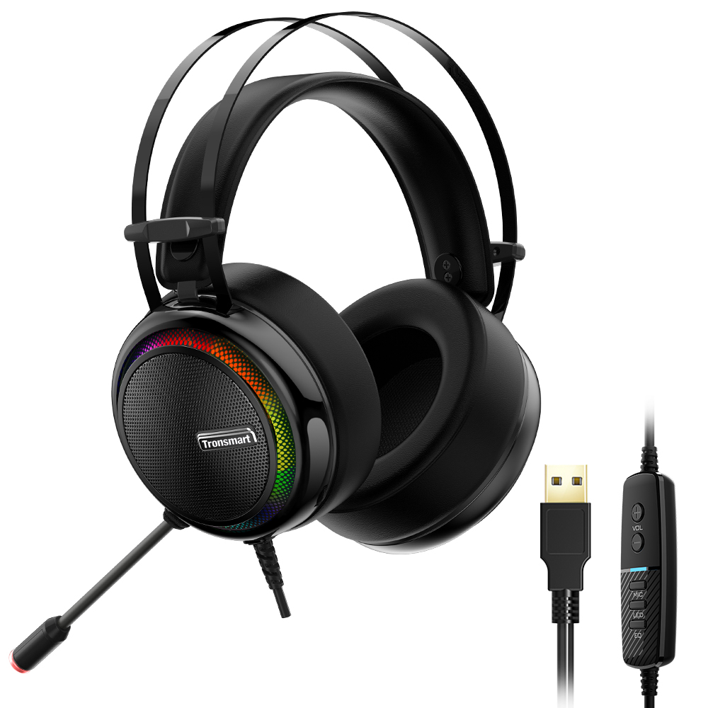 Tronsmart Glary Gaming Headset ps4 headset Virtual 7.1,USB Interface Gaming Headphones for ps4,nintendo switch,Computer,Laptop 1