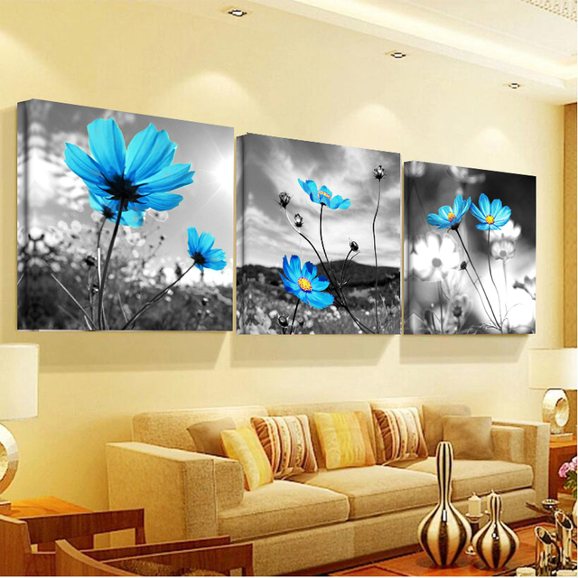Limited New Modern No Frame Swan Canvas Quadro Cuadros Decoracion Quadros Painting Home Decor Posters Wall For Living Room