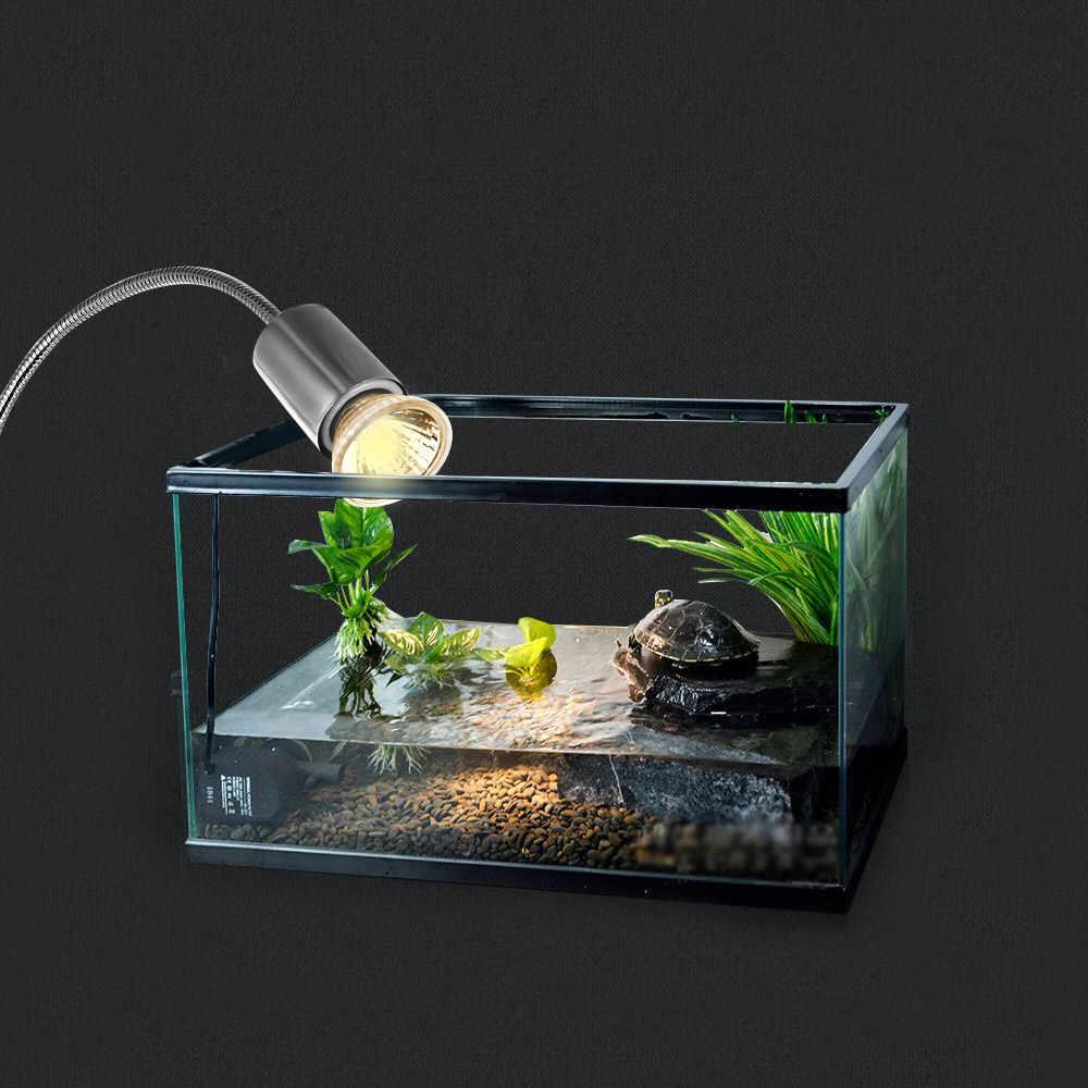 Eu/us Plug 25w Halogen Heat Lamp Three-dimensional Reflection Basking Lamp Heater Light Bulb For Reptiles Lizard Turtle Aquarium