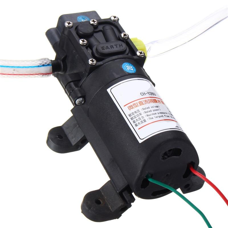 MTGATHER 12 V 60 W Huile Fluide Liquide Extracteur 5L Bateau De Voiture Auto Pompe De Transfert Changement Kit Pompes, pièces Accessoires