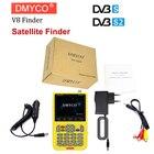 DMYCO v8 finder digital finder 3.5 inch LCD digital sat Finder DVB-S2 MPEG-4 Free sat v8 satellite Finder satlink ws-6933 Russia