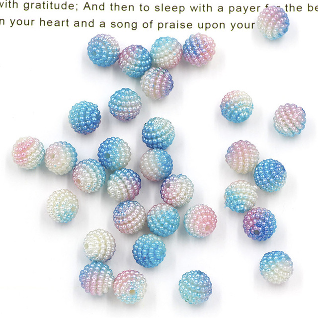 10g Colorful Slime Beads Artificial Flower Charm Fluffy Slime Filler Decoration Colorful Slime Charm 1 cm
