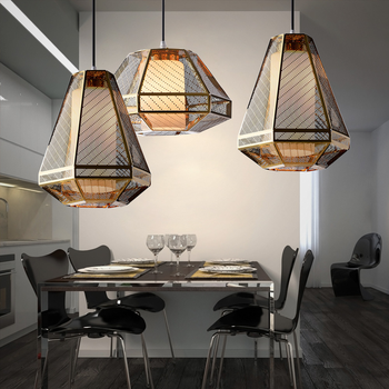 Vintage Chandelier Kitchen Hanging Lamps Island Light  Light Fixtures Home Decor Modern Led Lamp Luminaire Suspendu room lamp