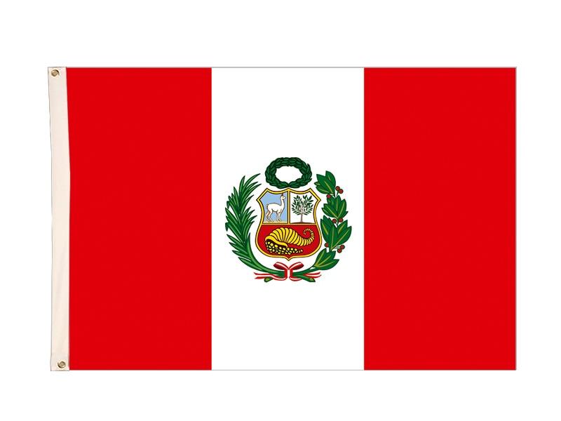 ><font><b>Peru</b></font> flag 3ft*5ft 90*150cm bandera polyester Flying for <font><b>2018</b></font> world cup