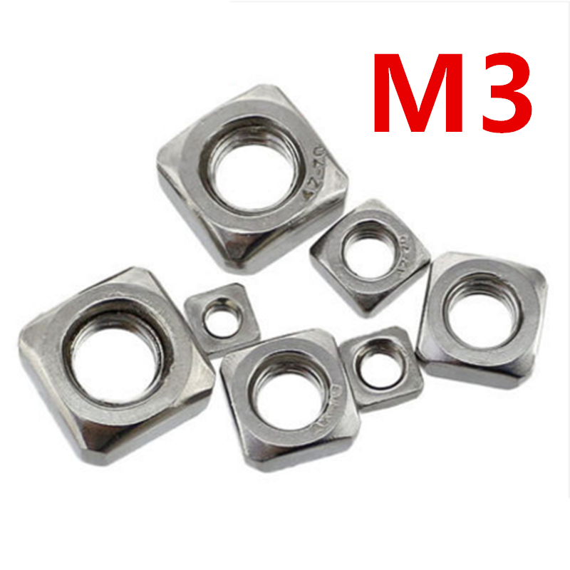 200pcs/lot High Quality 304 Stainless Steel A2-70 M3 Square Nut free shipping free shipping 2sd965 d965 5a 20v 1w transistor to 92 200pcs lot
