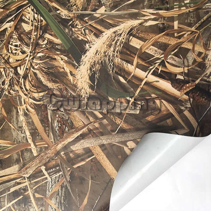 Утиная трава, графика, камуфляж, тень, трава, лезвия, лента, рулон, грузовик, охотник на крышу автомобиля, Камо, Виниловая пленка для автомобиля, ПВХ, клейкие наклейки