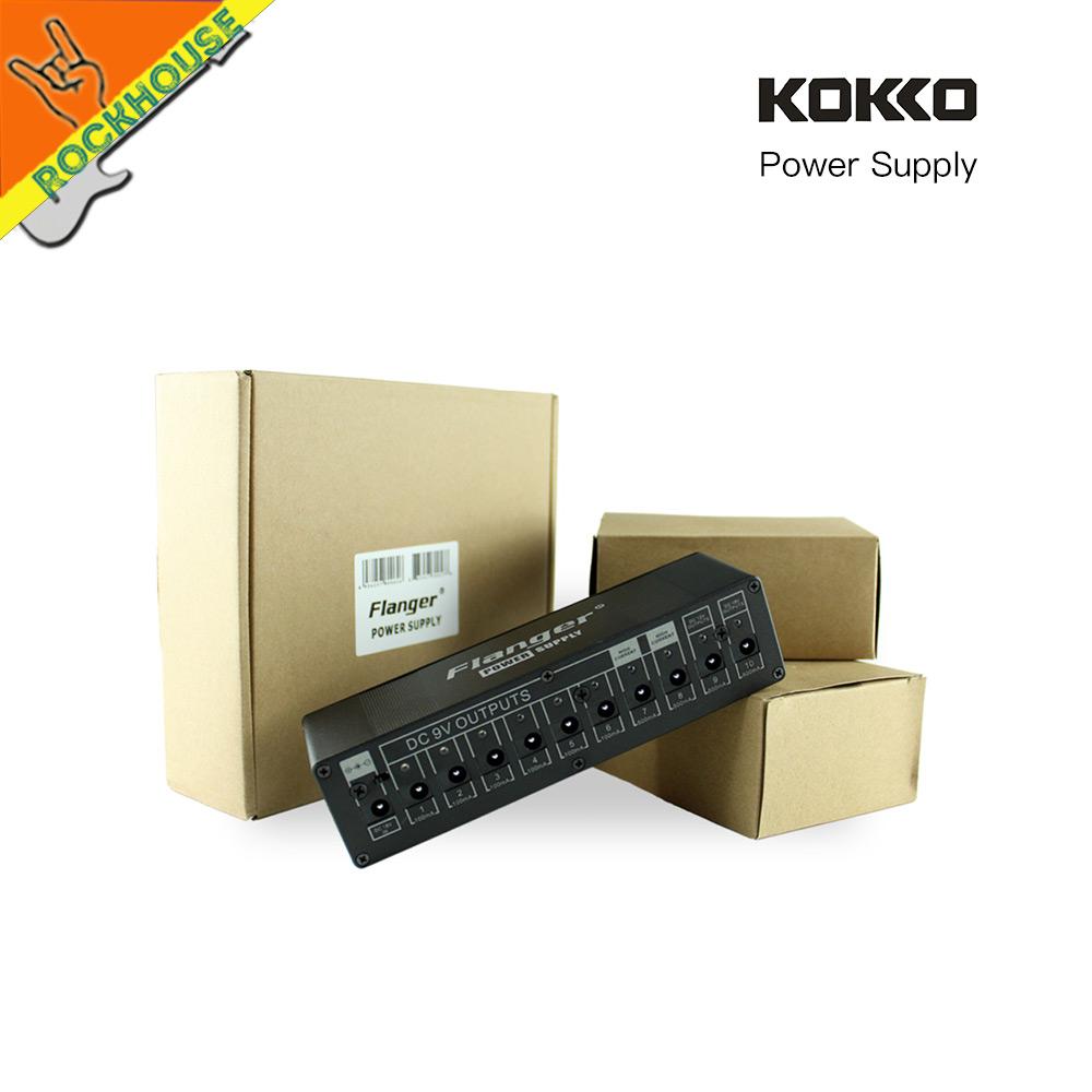 Prix pour KOKKO pédale alimentation 10 voies de sortie 7 façons 9V100ma 1way 9 V/500ma 12 v/100ma 18 V/100ma Tension de sécurité protection livraison gratuite
