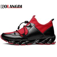 Bolangdi Super Cool Breathable Running Shoes Men Sneakers Bounce Autumn Outdoor Sport Shoes Professional Brand Training
