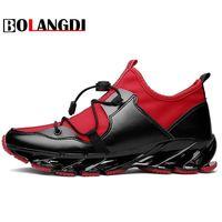 Bolangdi Super Cool Respirável Running Shoes Men Sneakers Salto Outono Ao Ar Livre Sapatos de Desporto Profissional Sapatos de Treino De Marca