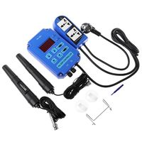Digital pH ORP Redox 2 in 1 Controller Monitor w/ Output Power Relay Control Electrode Probe BNC for Aquarium Hydroponics Plants