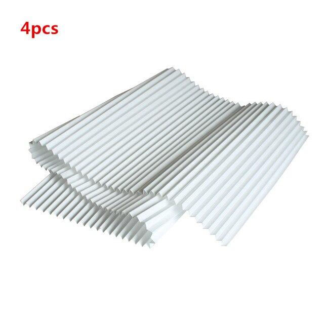 4 stücke DIY Universelle Filter PM2.5 und Dunst zu Reinigung 1200*290mm HEPA Filter Papier mit Metallklappfilter Luftreiniger Teile