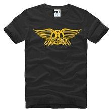 3b08673e New Summer Style Aerosmith T Shirts Men Cotton Short Sleeve Rock Band Men's  T-Shirt Fashion Male Rock and Roll Oversized T Shirt
