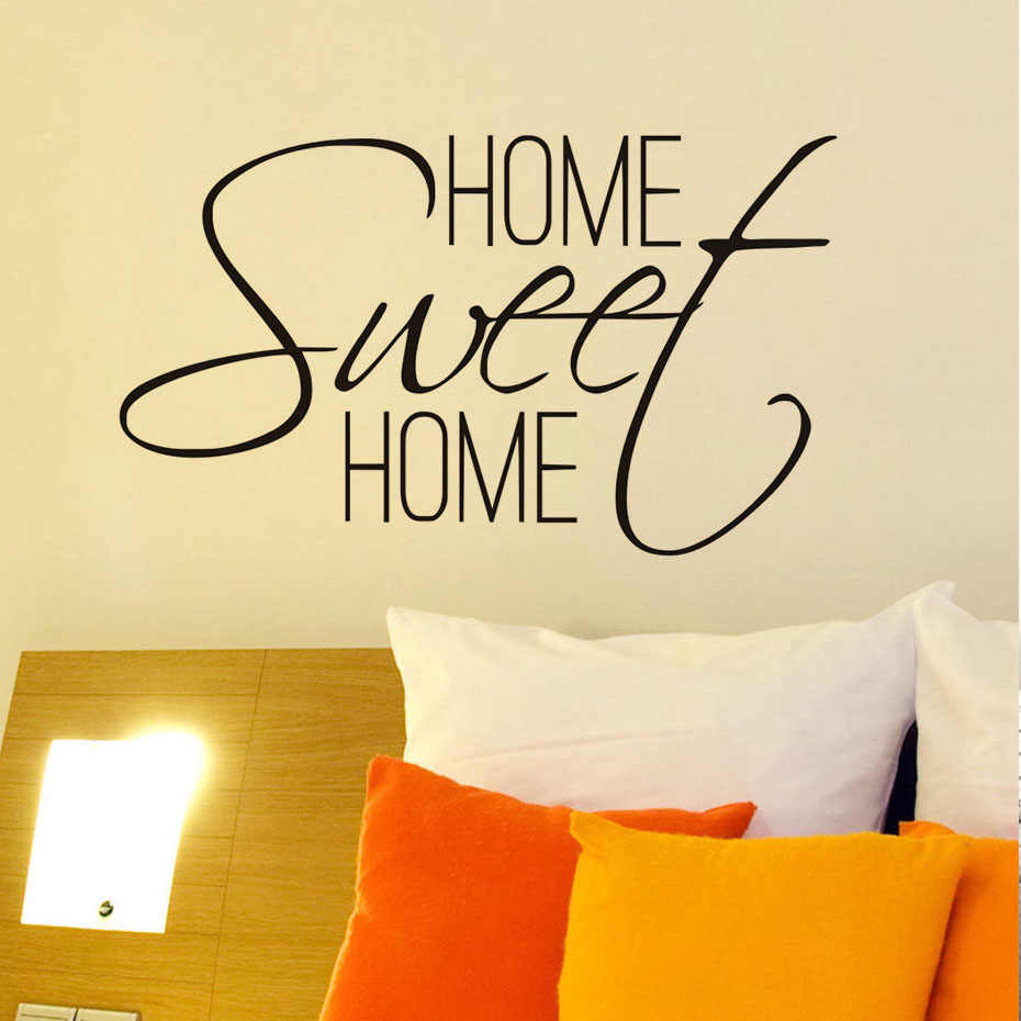 Detail Feedback Questions About Home Sweet Home Quotes Wall Decal