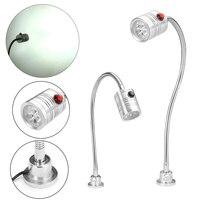 3 W 220 V LED Podstawa Magnetyczna Praca Lekka Lampa Narzędzie Do Tokarki CNC Miller Przemysłowe