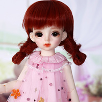 1/6 Ginger Miadoll BJD SD Dolls YOSD Body Model Baby Full Set with Hair Clothes Shoes Accessories Joint Doll
