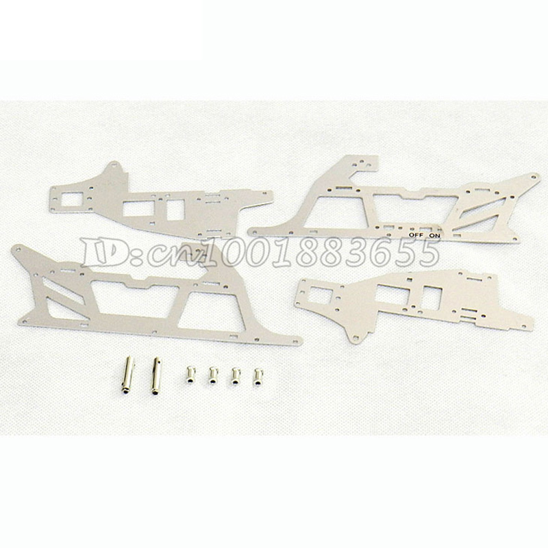 Free shipping Wholesale/Double Horse DH 9053 spare parts Main frame decorated  aluminium plates 9053-16 for DH9053 RC Helicopter free shipping dh 9053 parts gear blade clip balance bar for dh9053 rc helicopters spare parts