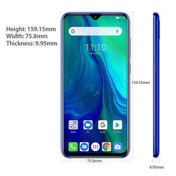 """Ulefone Power 6 Smartphone Android 9.0 Helio P35 Octa-core 6350mAh 6.3\"""" 4GB 64GB NFC Cell Phone 4G Global Mobile Phone Android"""