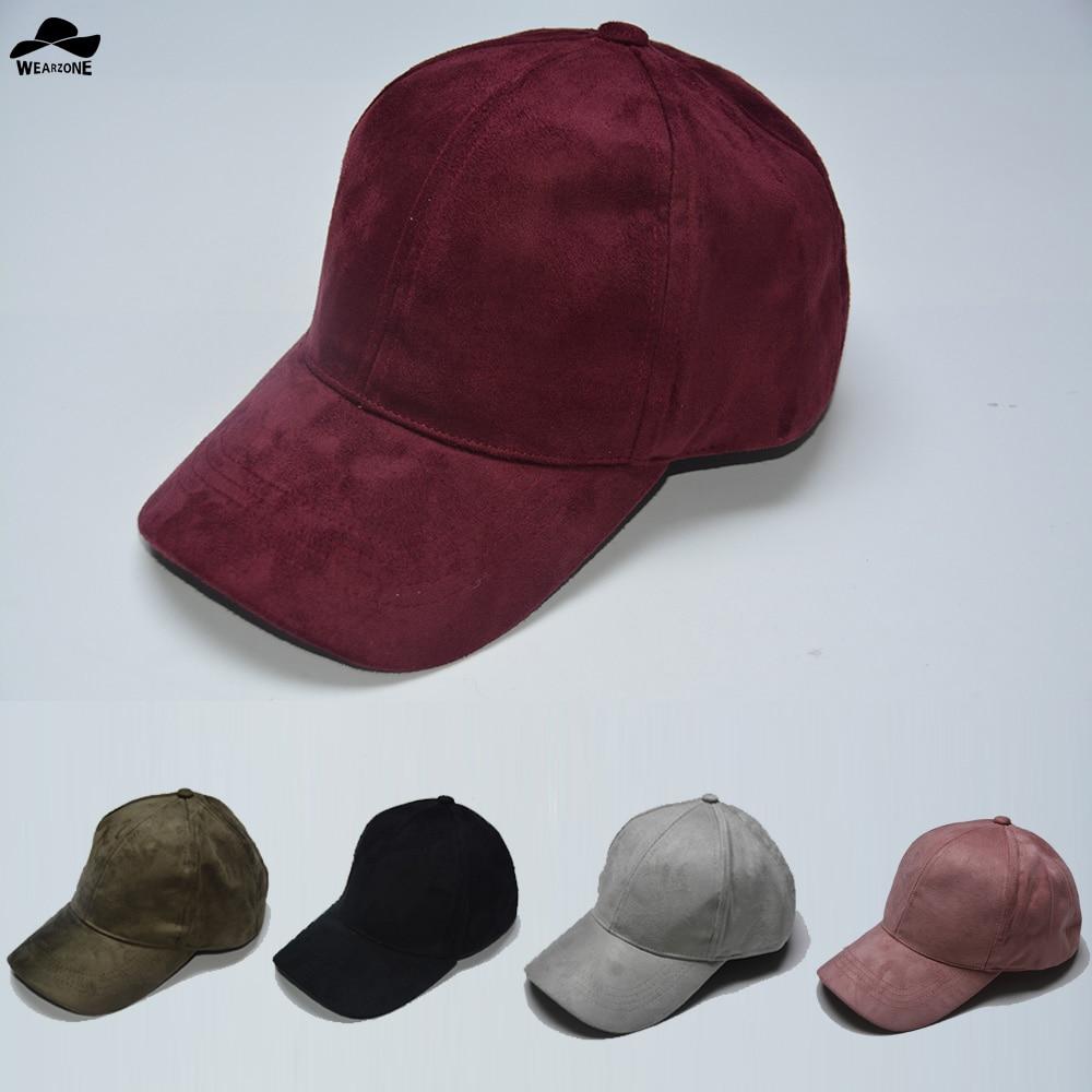 93be4558045 2017 Fashion Suede Snapback Baseball Cap New Gorras WearzoneTrucker cap  WinterAutum HipHop Flat Hat Casquette Bone