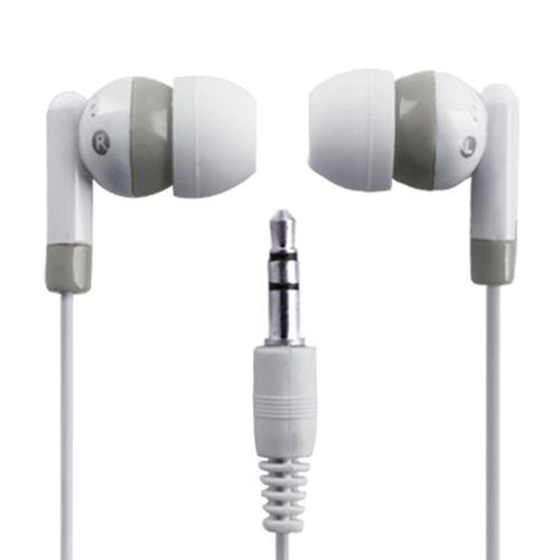 Marsnaska Wholesale 3.5mm Mini In-Ear Earbud Earphone for iPod White Free Shipping High Clarity and Dynamic Sound Effect