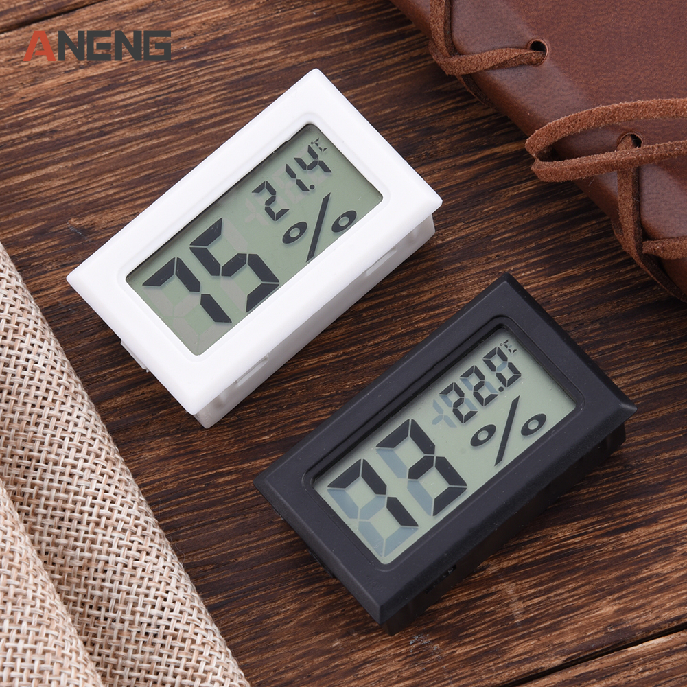 Мини цифровой ЖК термометр измеритель электронный термометр Датчик Тестер Крытый открытый электронный термометр метр #25|Приборы для измерения температуры| | АлиЭкспресс