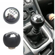 6 Speed Car Gear Shift Knob For Citroen C3 C4 Picasso C8 Berlingo B9 Peugeot 307 308 3008 407 5008 807 Partner B9 Partner Tepee цена