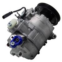 For Audi A4 A6 A8 ALLROAD Valeo Compressor Air Conditioning for (4b, C5) 1997 2005 96kW 1.9 TDII 4B0260805K Diesel Quattro
