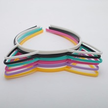2Pieces/lot Fashion Sweet Cat Ear Hairbands Women Ladies Girls Teeth  Hair Band Headwear Headband Hair Accessories