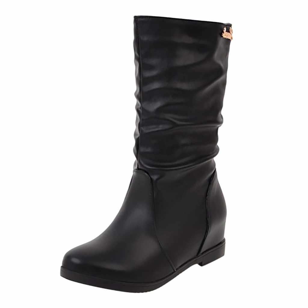 Femmes botte femmes sur le milieu bottes creux Sexy étudiant chaussures femme femme mince cuissardes Botas 35-43