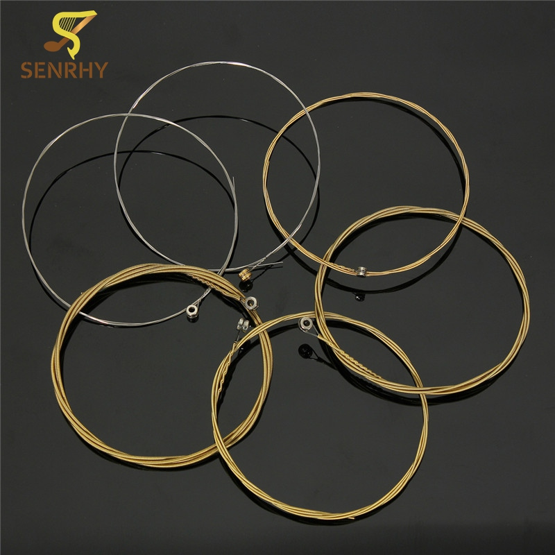 Top Selling Durable Set of 6 Piceces 95cm Acoustic Wooden Guitar Steel Strings 150XL 0.012-0.053 Guitar Parts & Accessories lehiste bibliotheca phonetica some acoustic characteristics of dysarthric speech