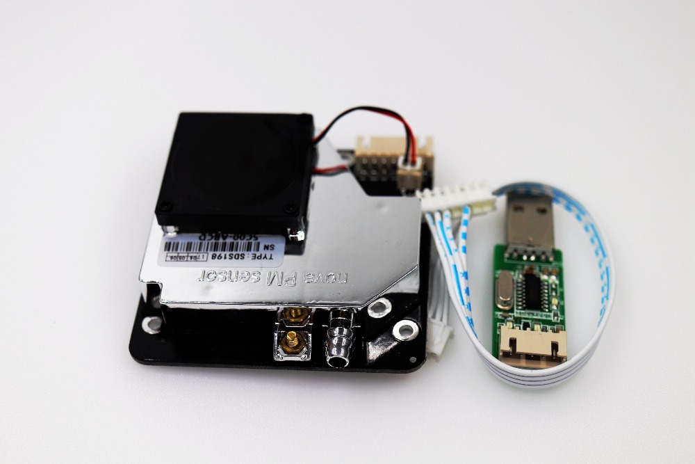 Nova PM sensor SDS011 High precision laser pm2.5 air quality detection sensor module Super dust dust sensors, digital output writing