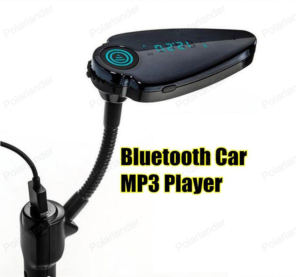 0b10edc9d3 Carro MP3 Player Bluetooth Transmissor FM HandsFree Car Kit Modulador de FM  Display LCD Carregador USB