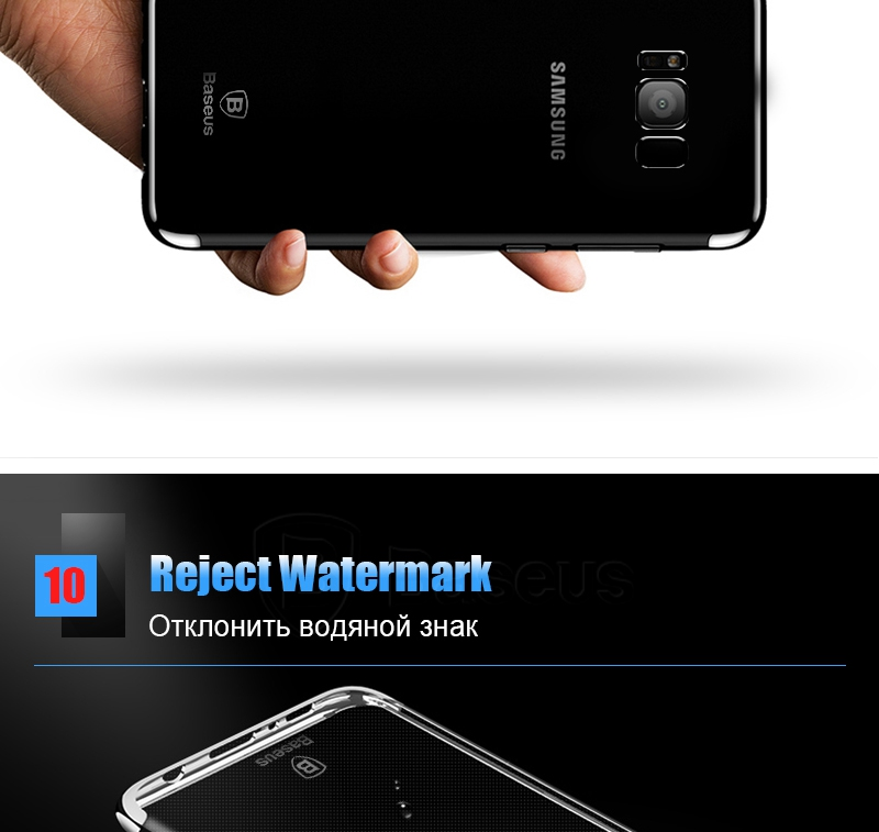 Baseus Transparent Case For Samsung Galaxy S8 Cases 360 Electroplating Hard Plastic Shell Cases For Galaxy S8 S8 Plus Case (13)